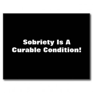 Funny Sobriety Quote