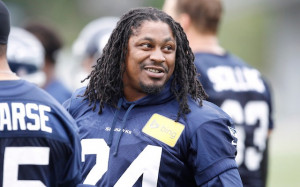 Marshawn Lynch; Talk To You For What… How Silence Is Golden.