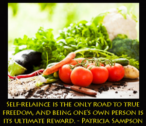 Reward Yourself With Self Reliance