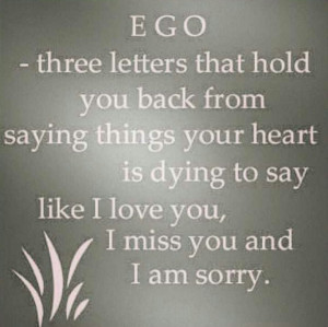 Got a big ego??