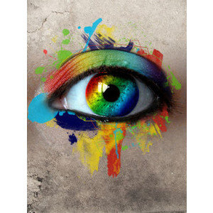 Positive Inspirational Quotes Colorful Eyes of the Soul