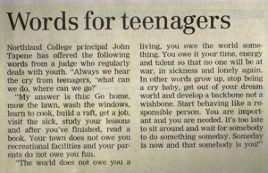 Words from a principal to young people. I NEED my students to hear ...