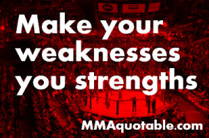 Motivational Quote on Strengths and Weaknesses