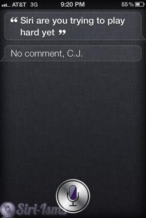 Siri Are You Playing Hard To Get? ~ Funny Siri Sayings