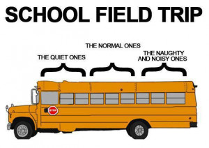 The factual diagram of field trip seating charts.