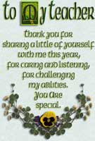 Irish Teacher gifts, blessings & sayings