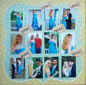 Prom Scrapbook Sayings...