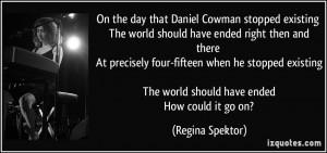 More Regina Spektor Quotes