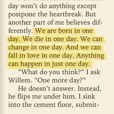 Just One Day/Year/Night by Gayle Forman