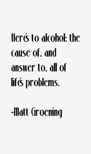 Matt Groening Quotes & Sayings