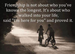 Am Here For You Friendship Quote