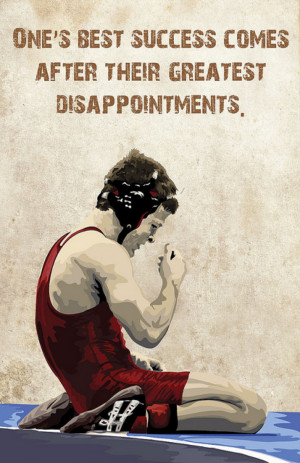 One's Greatest Success Comes After Their Greatest Disappointments