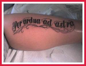 Tattoos Latin Sayings