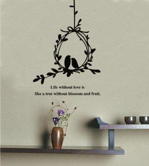 -and-Birds-Wall-Decals-Stickers-Love-Quotes-Furniture-Living-Room ...