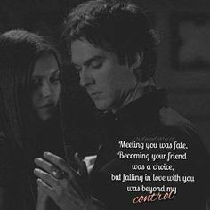 The Vampire Diaries TV Show Fan Art: TVD Quotes