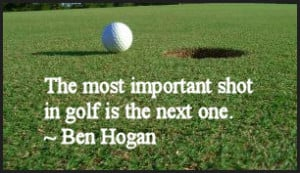 Golf Sayings, Quotes and Expressions