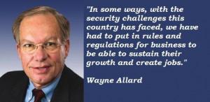 Wayne allard quotes 3