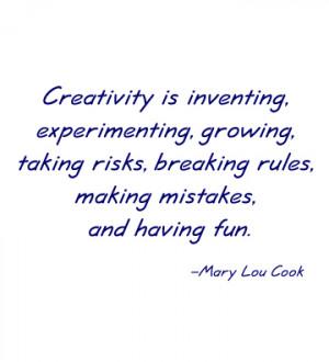 Topics: Creativity , Quotes