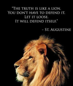 St. Augustine quote! Good one!!