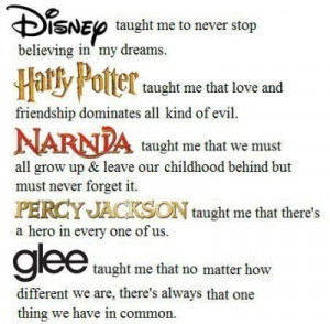 ... , my childhood, narnia, percy jackson, pretty, quote, quotes, taught