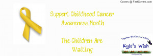 Childhood Cancer Awareness Profile Facebook Covers