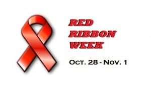 Red Ribbon Week, October 28th – November 1st – Show your support ...