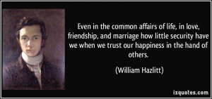 Affairs In Marriage Quotes