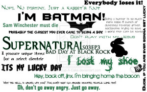 Supernatural Quotes by CreamCup-A-Cake
