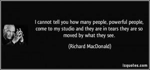 More Richard MacDonald Quotes