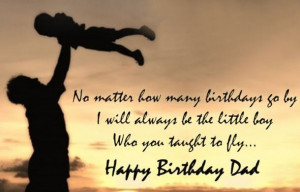 ... Happy Birthday DAD Quotes from Daughter & Son – To My Father (Best