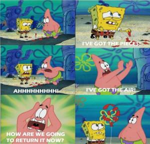 ve Got The Pieces! - I've Got The Air! - Funny Spongebob Scenes