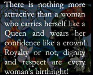 am a queen.
