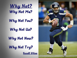 Russell Wilson Seattle Seahawks Photo Quote Poster Wall Art Print 8x11 ...