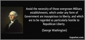 george washington farewell address quotes