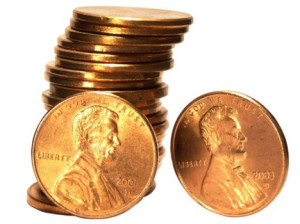 ... Pennies from Heaven! It's Lucky Penny Day! George W. Reither III