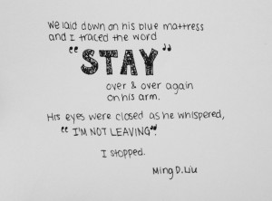 quotes about falling in love with someone tumblr Images For Scared ...