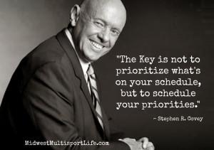 Midweek Motivation: Priorities