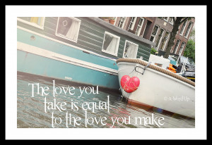Beatles Lyric quote Photograph 8x10 Affordable Wall Decor