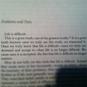 Quotes About Overcoming Pain Here is a quote from m scott