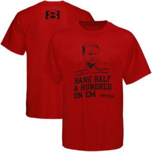Oklahoma Sooners Crimson Switzer Cotton Jersey T-shirt