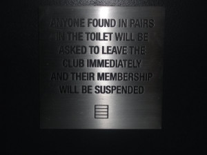 No Sex At Soho House...