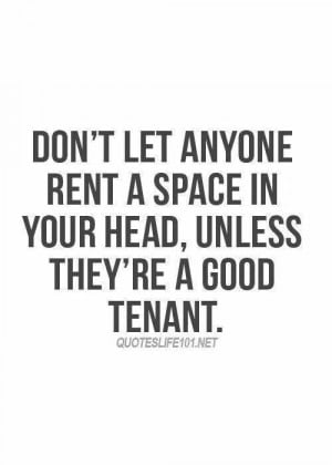 you are the landlord .....