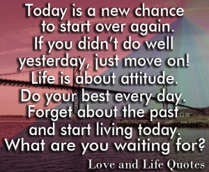 Best Quotes On Attitude And Life