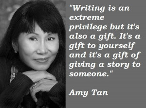 Amy tan famous quotes 1