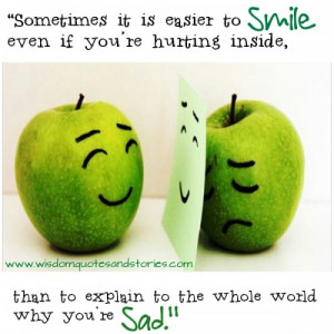 Smile When Your Sad Quotes (3)