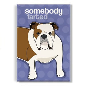 Bulldog-Gifts-Refrigerator-Magnets-with-Funny-Sayings-Somebody-Farted