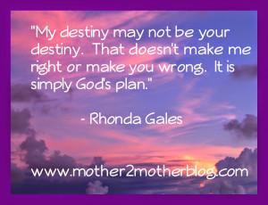 Inspirational Quotes: My Destiny