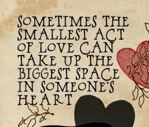 Heartwarming quote!