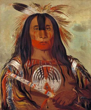 GEORGE CATLIN NATIVE AMERICAN PAINTINGS AT NATIONAL PORTRAIT GALLERY ...