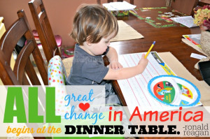 dinner table quote